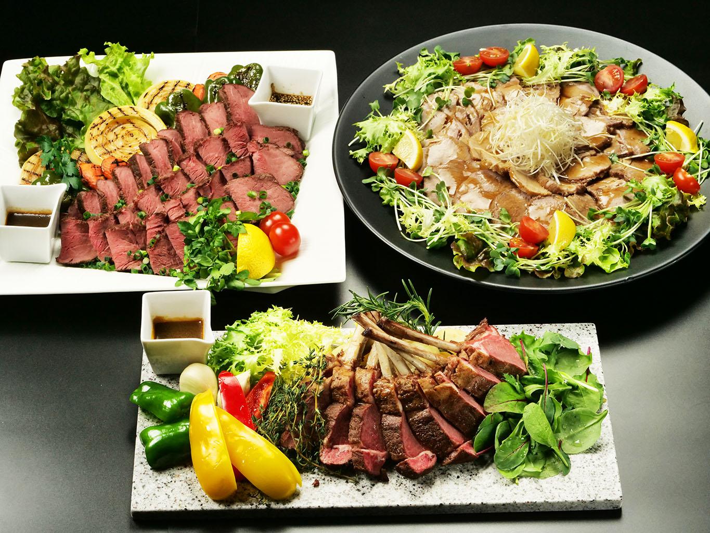 三種 の お肉 テイクアウト (ご予約が必要となります)