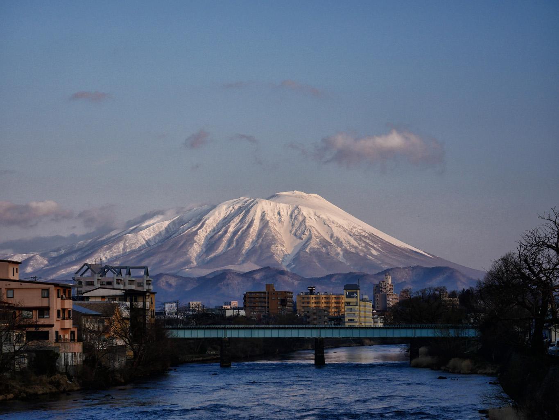 岩手山   岩手・盛岡の観光(Morioka・Iwate)