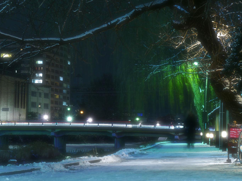 中津川 ライトアップ