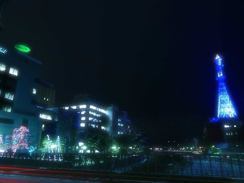 テレビ岩手 東北電力 ライトアップ